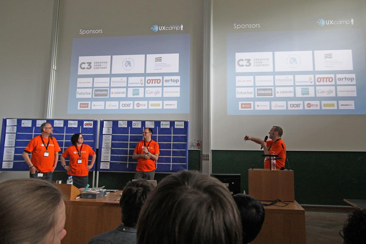 UXCamp Europe 2015, Берлин