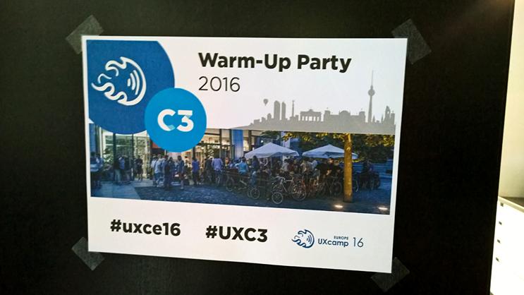 UX Camp Europe 2016
